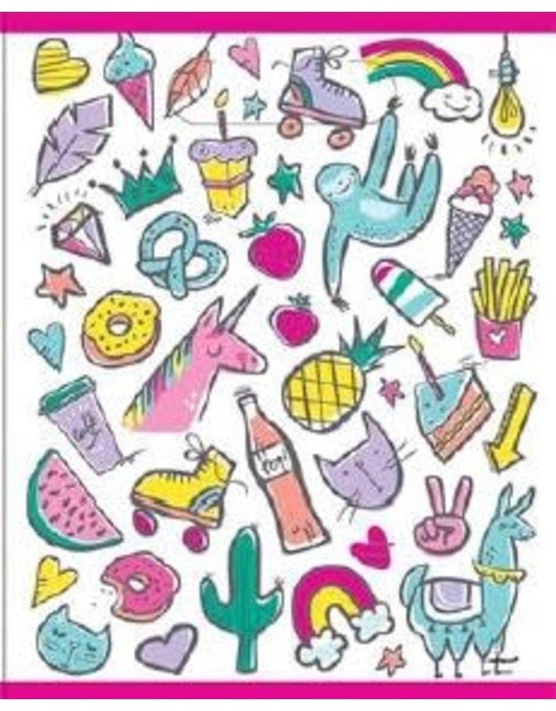 Uitdeelzakjes Birthday Icons (8 stuks)