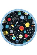 Bordjes Space (18 cm, 8 stuks)