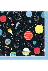 Servetten Space (16 stuks)