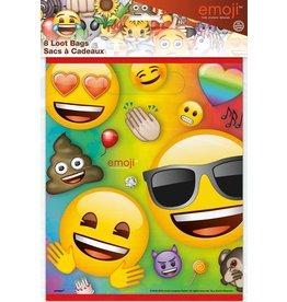 Uitdeelzakjes Rainbow Fun Emoji (8 stuks)