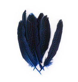 Veren Parelhoen 15/20 cm Blauw (10 stuks)