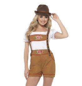 Sexy Bavarian Beer Kostuum voor Dames