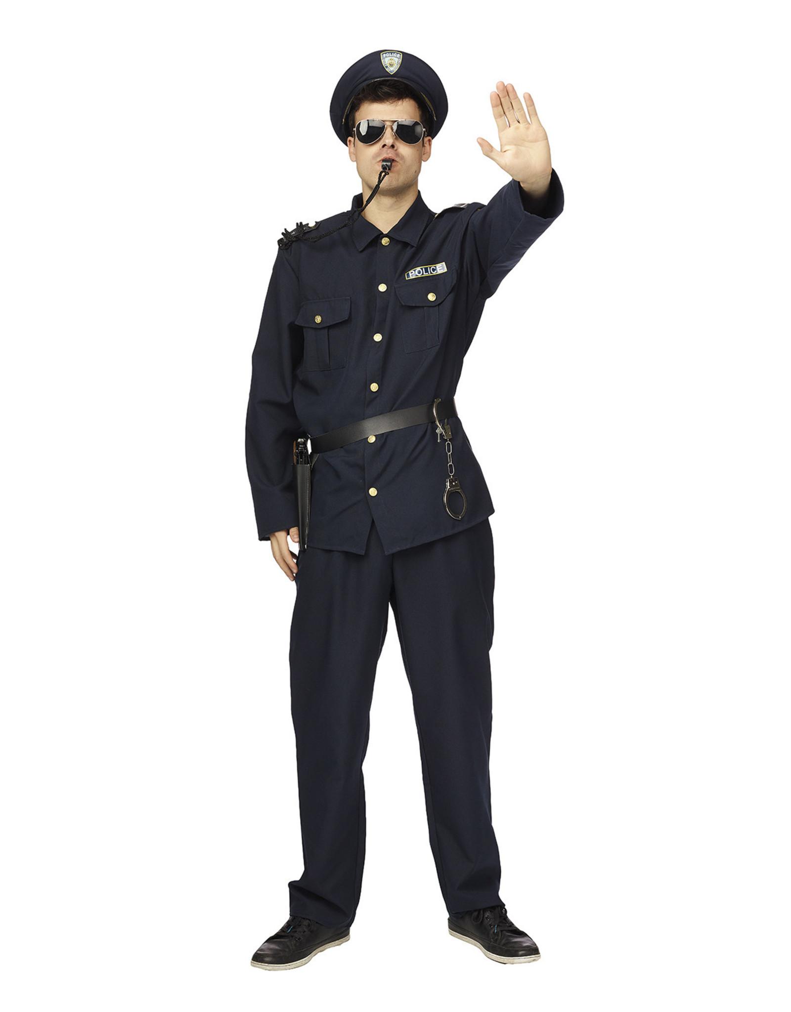 Politie Kostuum voor Heren