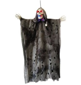 Hangdecoratie Halloween Spook met licht (63 cm)