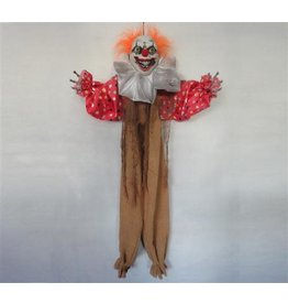 Hangdecoratie Halloween Clown (90 cm)