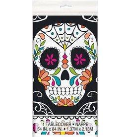 Tafelkleed Skull Day of the Dead (140 x 215 cm)