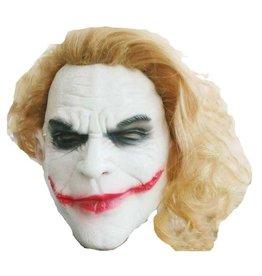 Masker Joker met Oranje Haar