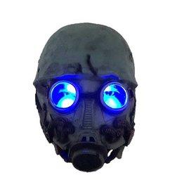 Horror Gasmasker met Oplichtende Ogen