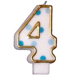 Cijferkaars 4, Blauw