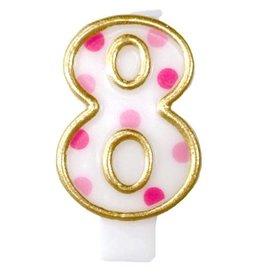 Cijferkaars 8, Roze
