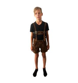 Tiroler broek Jongens (echt leer)