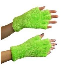 Handschoenen softy fluor groen