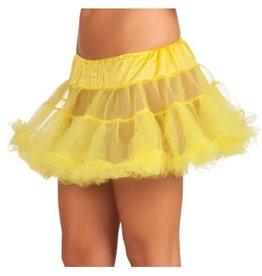Petticoat neon geel