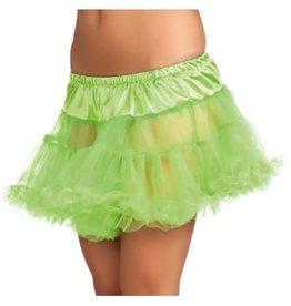 Petticoat neon groen