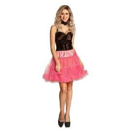 Petticoat neon roze luxe