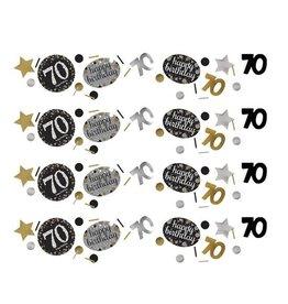 Confetti Sparkling Gold 70 jaar (34 gr)