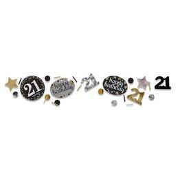 Confetti Sparkling Gold 21 jaar (34 gr)