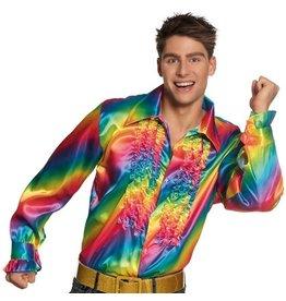 Ruches Blouse Rainbow