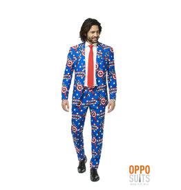 Opposuits Captain America