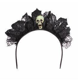 Haarband Dark Princess, Zwart