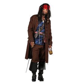 Kostuum Jack Sparrow Deluxe