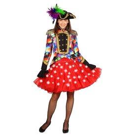 Petticoat Bellatrix, Rood-Wit