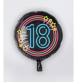 Neon Folie Ballon - 18