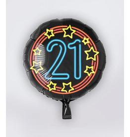 Neon Folie Ballon - 21