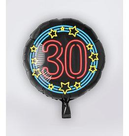 Neon Folie Ballon - 30