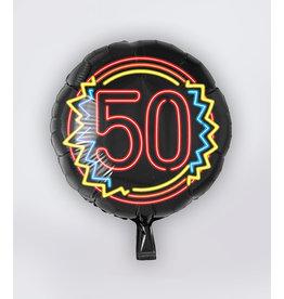 Neon Folie Ballon - 50