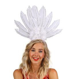 Haarband Brazil, Wit