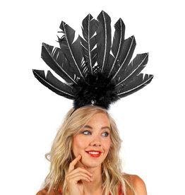 Haarband Brazil, Zwart