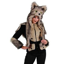 Themajas Dame Wolf, Zwart