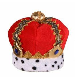 Koningskroon Kind Luxe, Rood