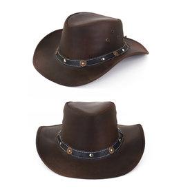 Cowboy Hoed Leer, Bruin