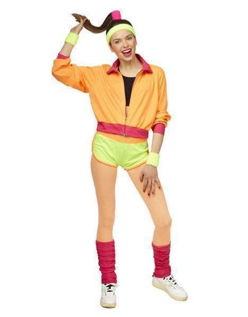 Kostuum Training Fluo Vrouw