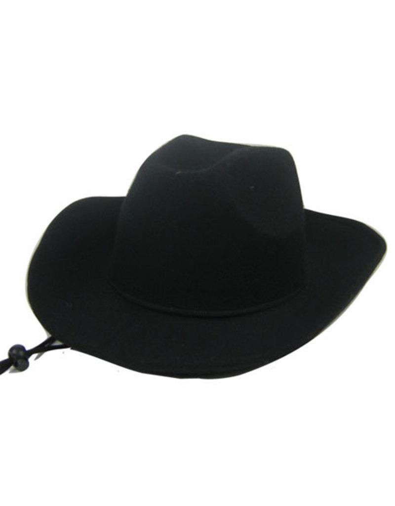 Cowboyhoed Wool Zwart