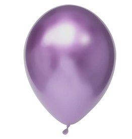 Chrome Ballonnen Paars (30 cm, 50 stuks)