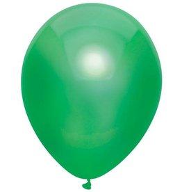 Haza Ballonnen Uni Metallic Donker Groen (30 cm, 100 stuks)