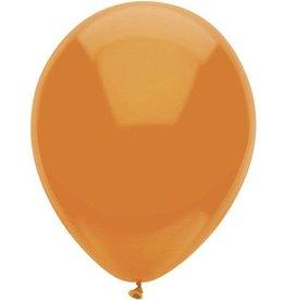 Ballonnen Uni Oranje (30 cm, 100 stuks)