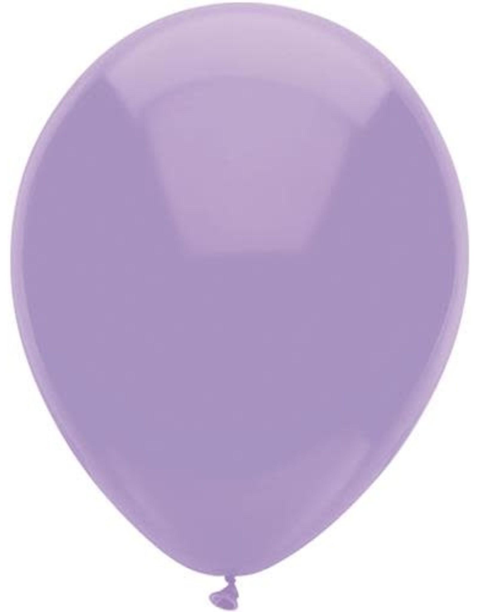 Ballonnen Uni Lila (30 cm, 100 stuks)