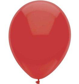 Ballonnen Uni Rood (30 cm, 100 stuks)