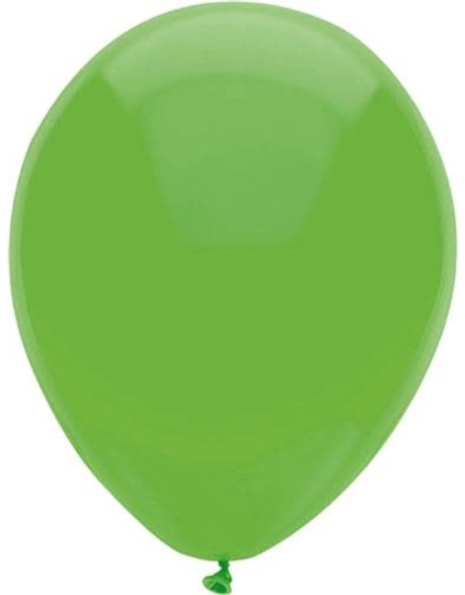 Ballonnen Uni Licht Groen (30 cm, 100 stuks)
