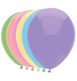 Ballonnen Pastel Mix (30 cm, 100 stuks)