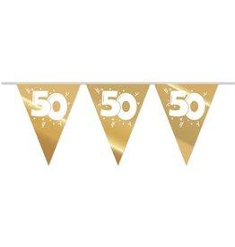 Vlaggenlijn Goud 50 jaar (10 m)