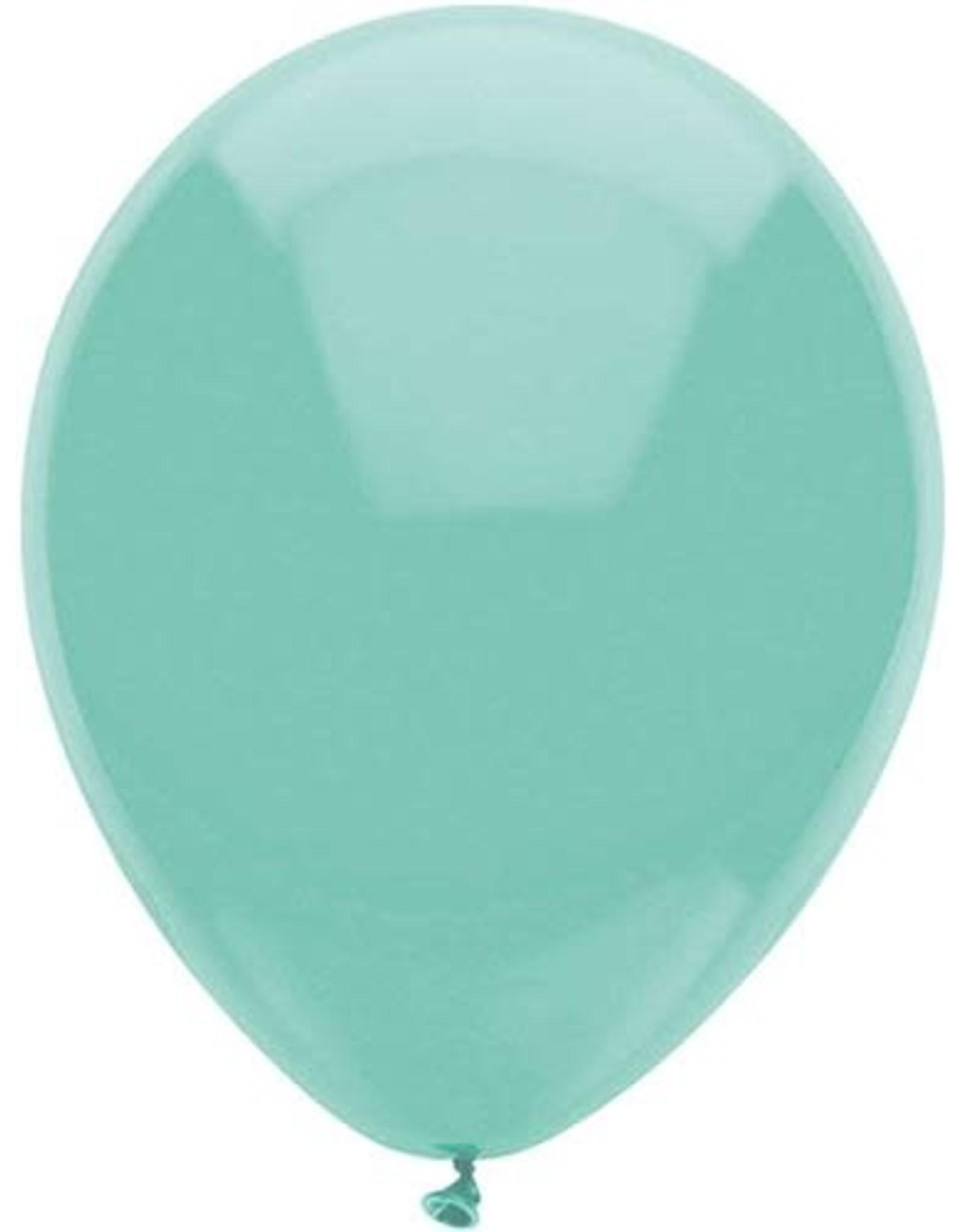 Ballonnen Uni Mint (30 cm, 100 stuks)
