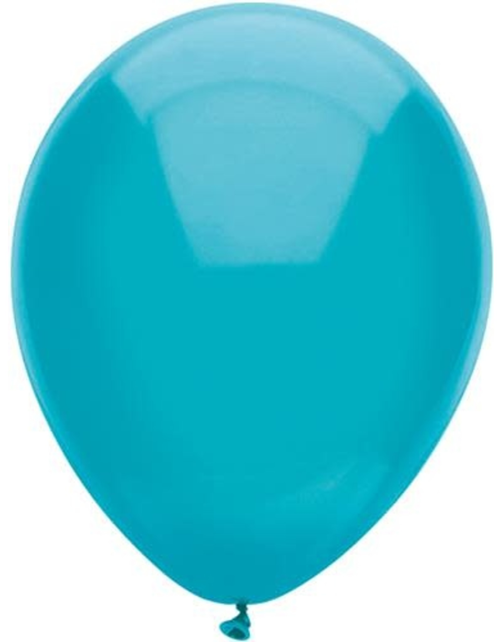 Ballonnen Uni Groenblauw (30 cm, 100 stuks)