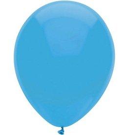 Ballonnen Uni Midden Blauw (30 cm, 100 stuks)