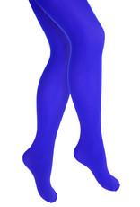 Gekleurde kinderpanty, Blauw