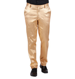 Herenbroek Metallic, Goud